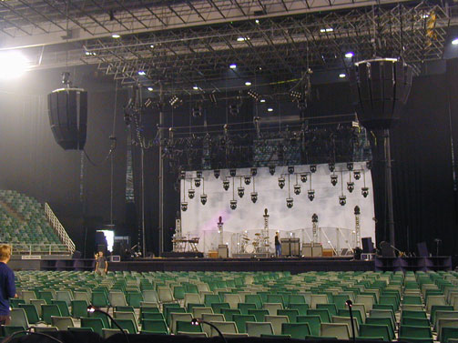 R5 Clusters with Scrim Grills for Bryan Adams in Australia
