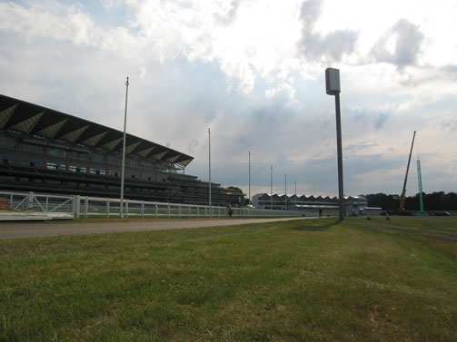 Hybrid Cluster for Ascot Grandstand