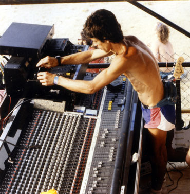 Early Ambisonic Experimentation at Glastonbury (c.Ben Duncan)