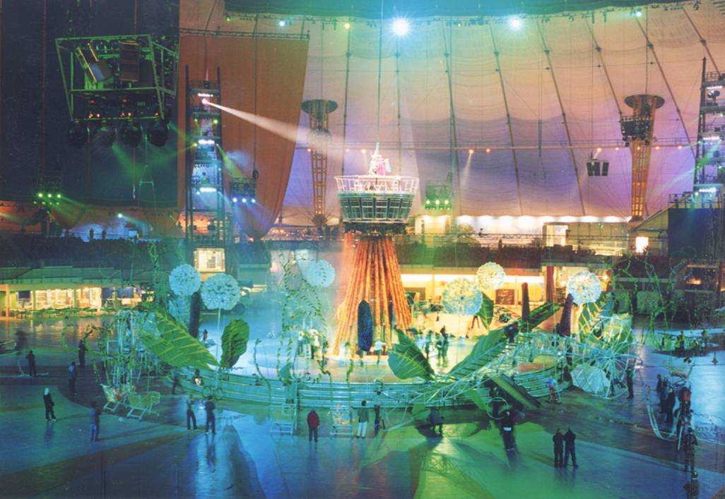 Resolution 9s used at the Millenium Dome - 1999/2000