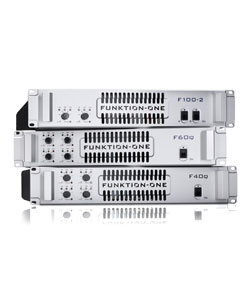 F-Series Amplifiers