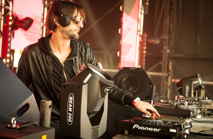 Ricardo Villalobos - Cocoon on main stage at We are festvl May 2013, using PSM318 DJ Monitor