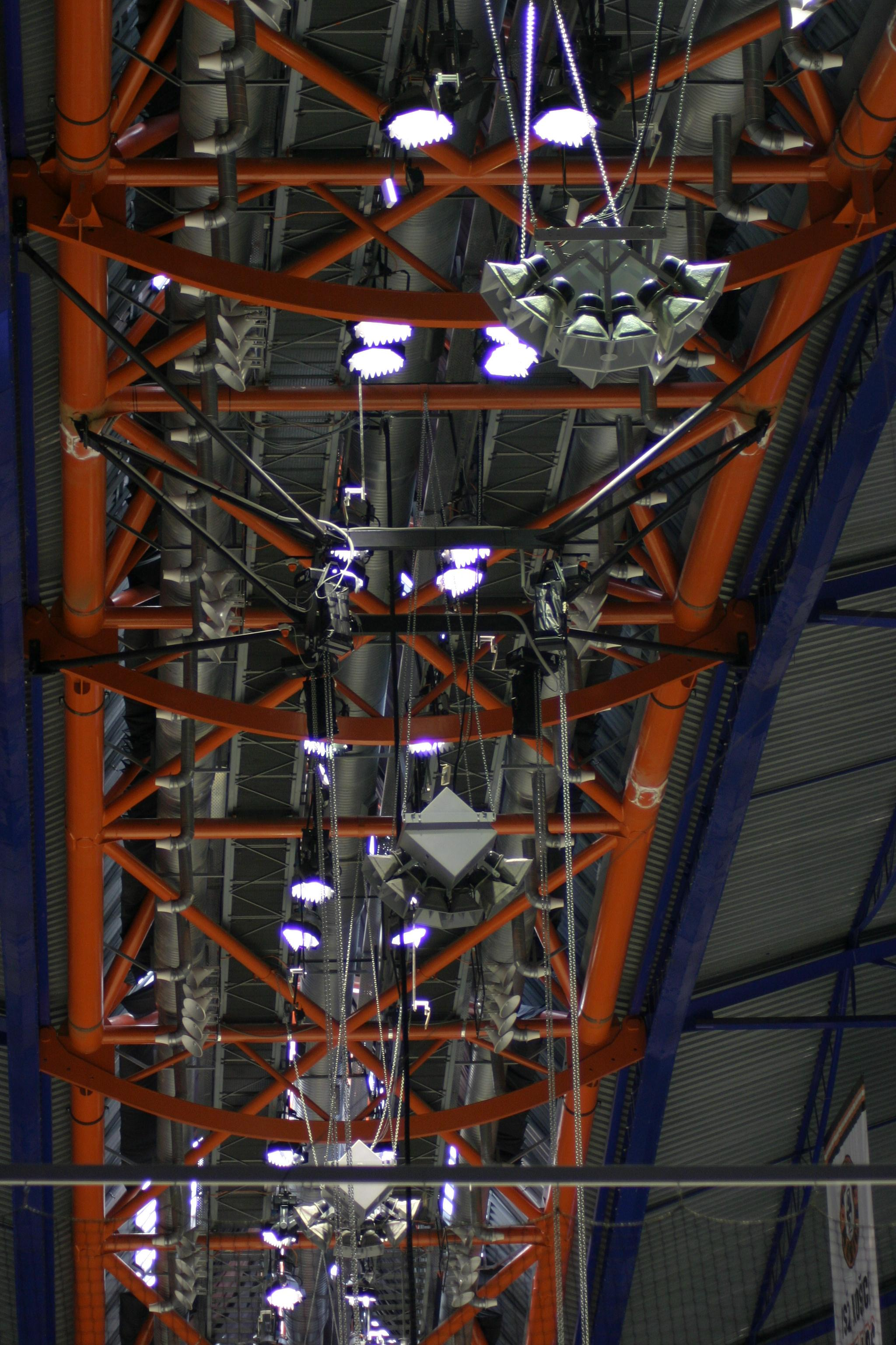 AX88 cluster and F118s - Steel Arena, Slovakia