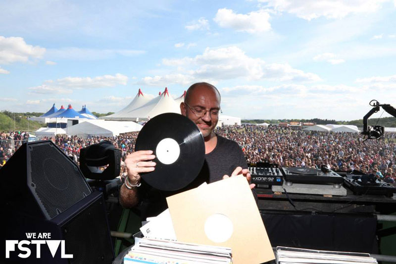 Sven Vath - Cocoon using PSM318 DJ Monitor at We are fstvl May 2013